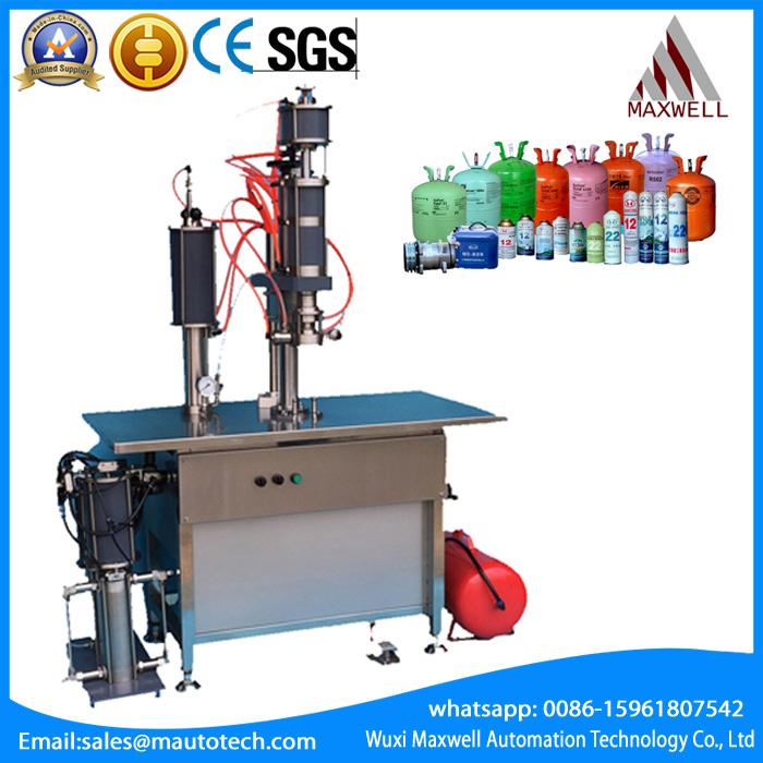 Freon filling machine