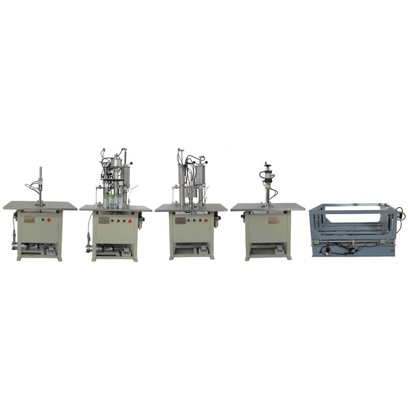 Semi automatic foam production line