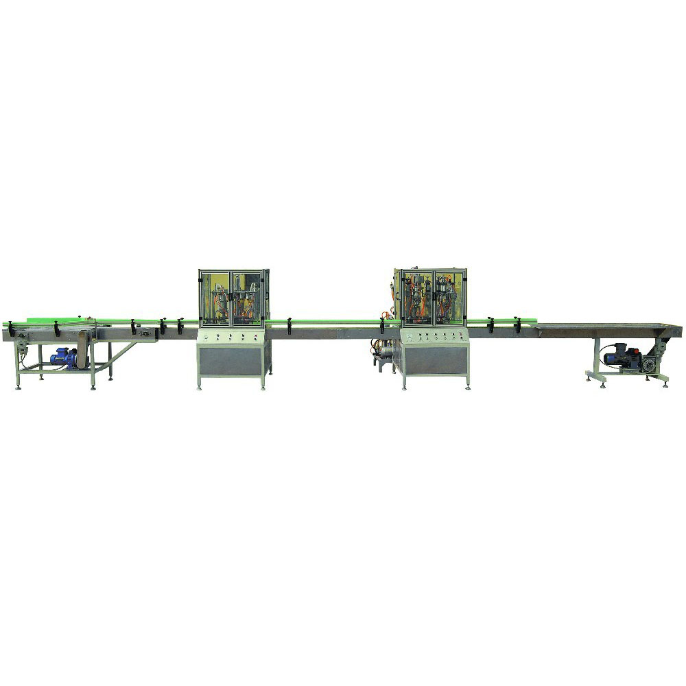 QGQ-LINE automatic aerosol filling machine