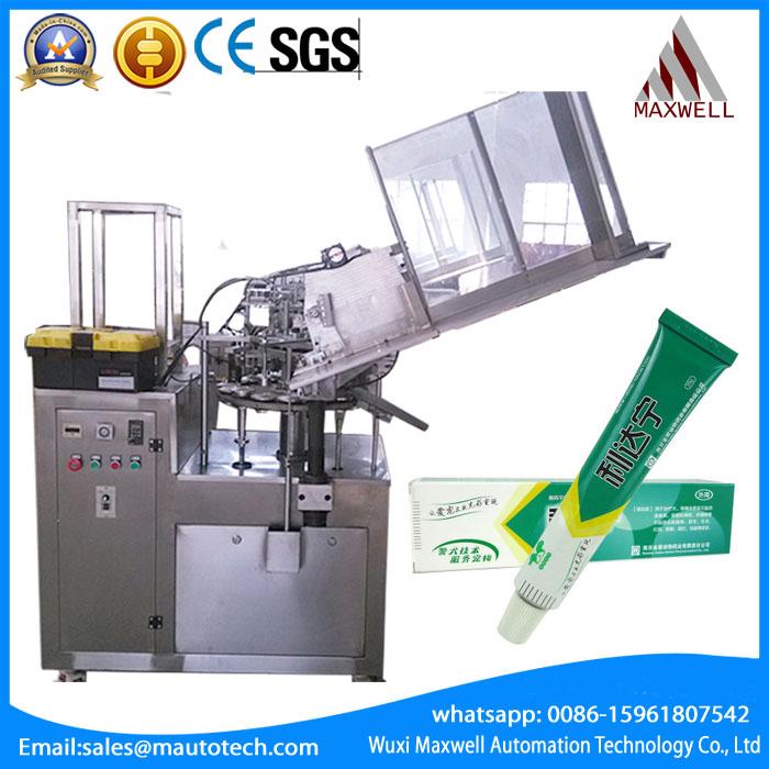 JGF-C-502 super glue filling machine for Aluminum tube