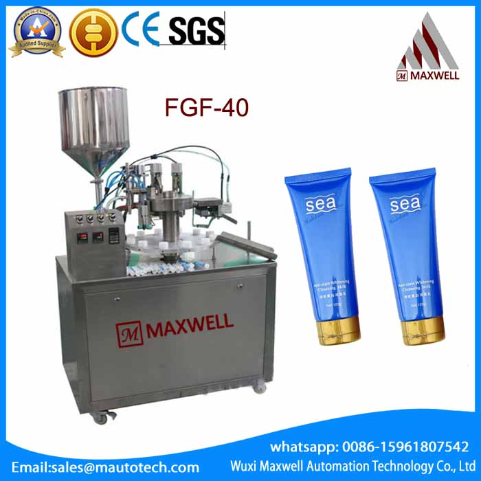 FGF-40-M tube fill and seal tail machine